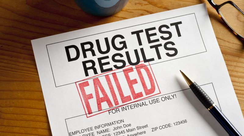 Can I be Arrested for Failing a Drug Test?
